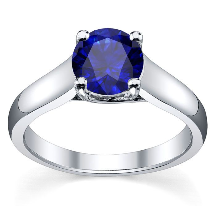 Pin by deBebians on Sapphire Engagement Rings