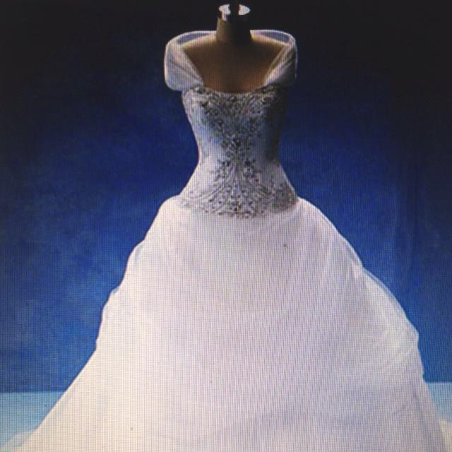 Belle Inspired Wedding Dresses 46