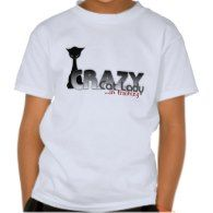 Crazy Cat Lady in Training! T-shirts - Click to see more cat gift