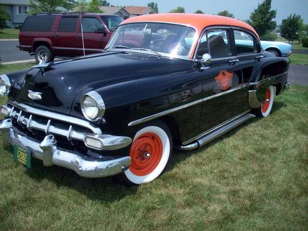 1954 chevy 210 4 door dream garage pinterest for 1954 chevy 4 door