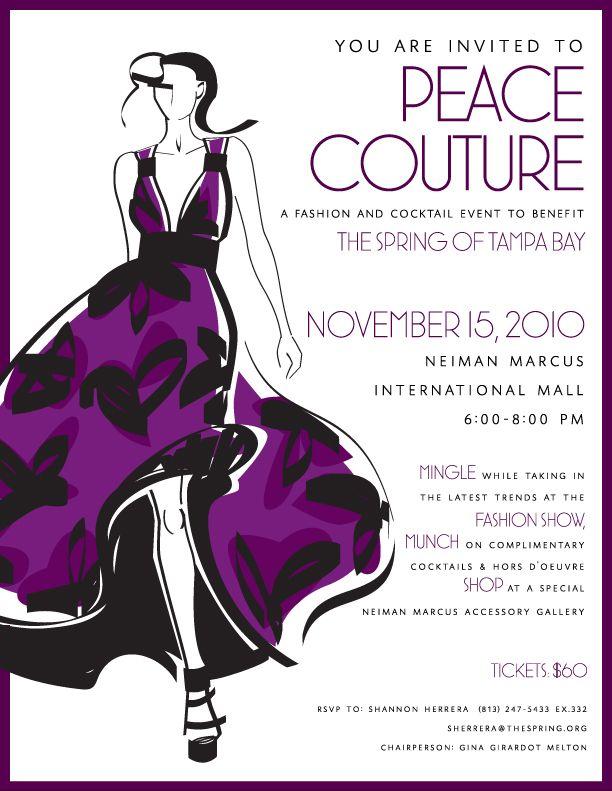Fashion Show Invitation The Image Kid