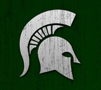 pin by michigan state spartans on msu spartans cross