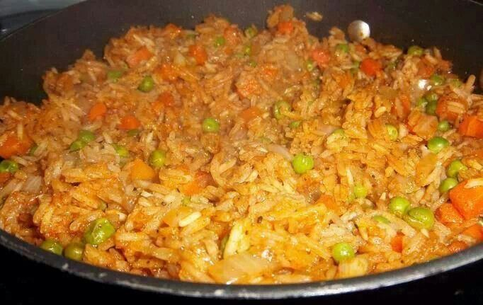 Mexican red rice | Food | Pinterest