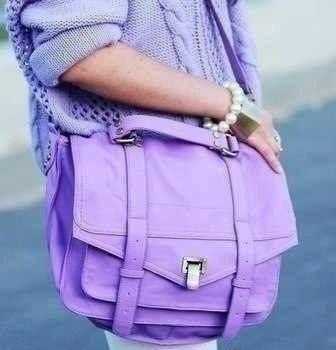 Pastel violet satchel bag #purses #handbags diy # trended #fashion #