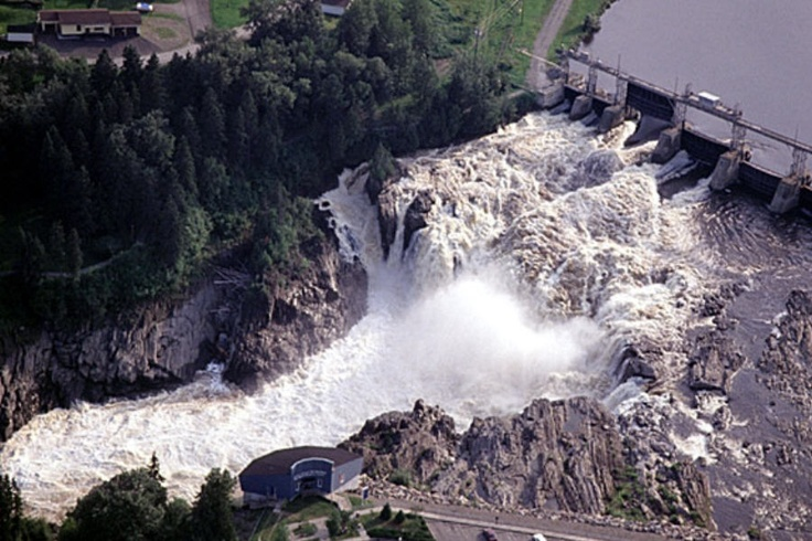 Grand Falls (NB) Canada  City new picture : Grand Falls, New Brunswick, Canada, Legend of young native girl named ...