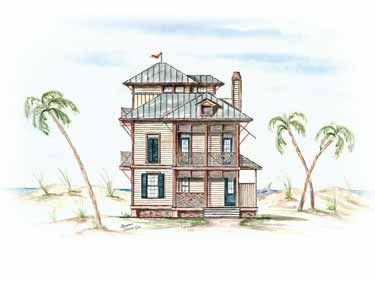 Three Story Beach House