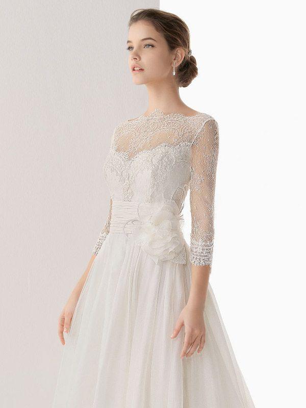 Welche Brautkleid-Ärmel zu welchen Typ Braut passen - miss solution ...