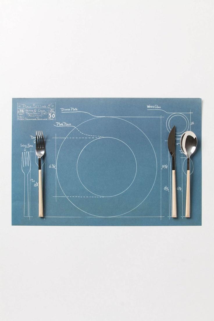 Rules Of Etiquette Paper Placemats