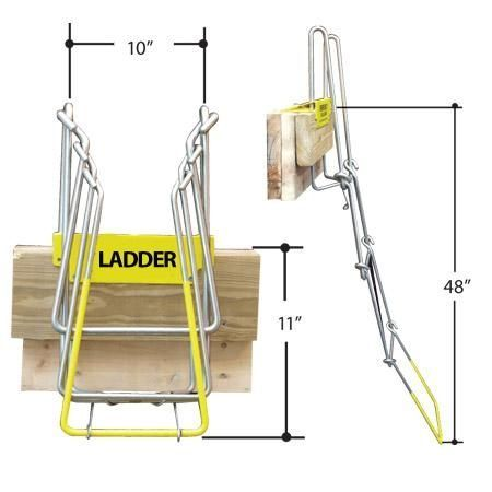 Foldable Dock Ladder