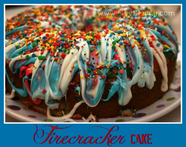 Firecracker Cake recipe that proves kids can cook