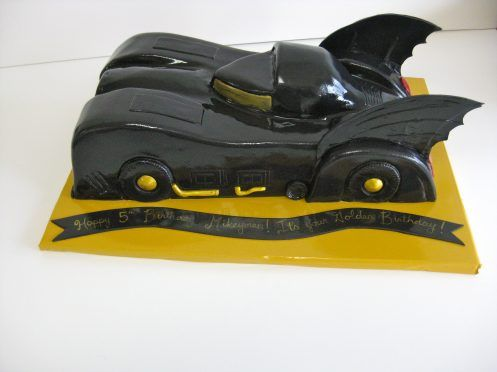 Batman Car Birthday Cake  THB79  Cakes & Cookies  Pinterest