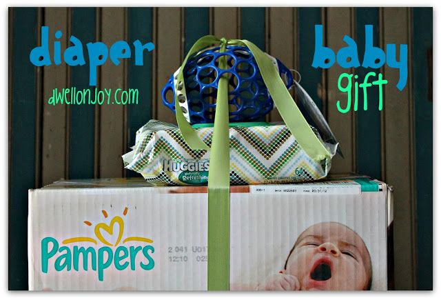 Baby Gifts For The Parents : Diaper baby gift for new parents gifts