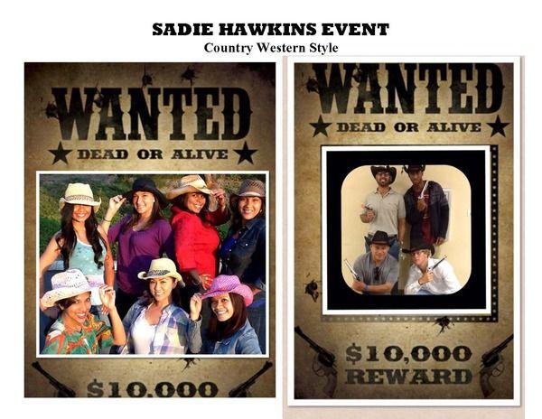 how to plan a sadie hawkins dance