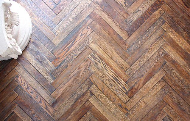 Chevron floor wood home decor pinterest Chevron wood floor