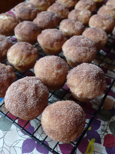 Brown Butter Cinnamon Sugar Puffs | A Recipe to Try | Pinterest