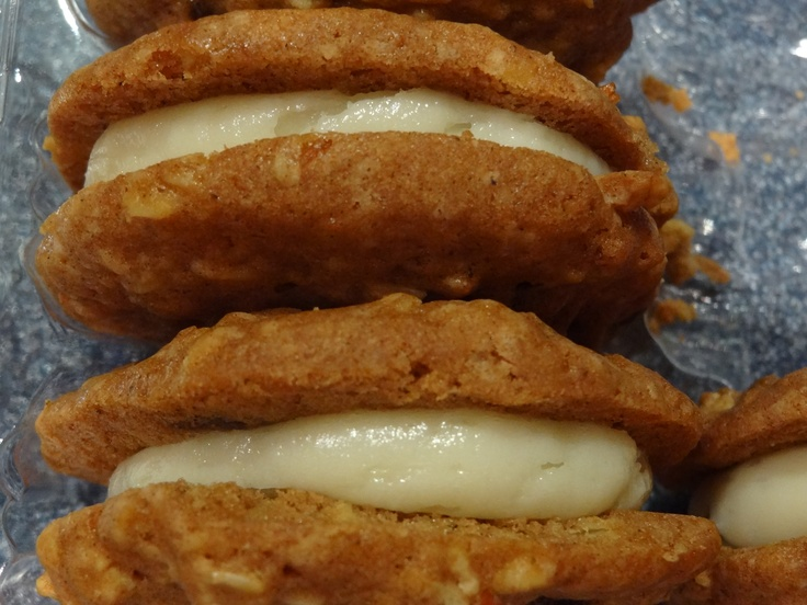 Trader Joe's Inside Out Carrot Cake Cookies! Matt and I just bought ...