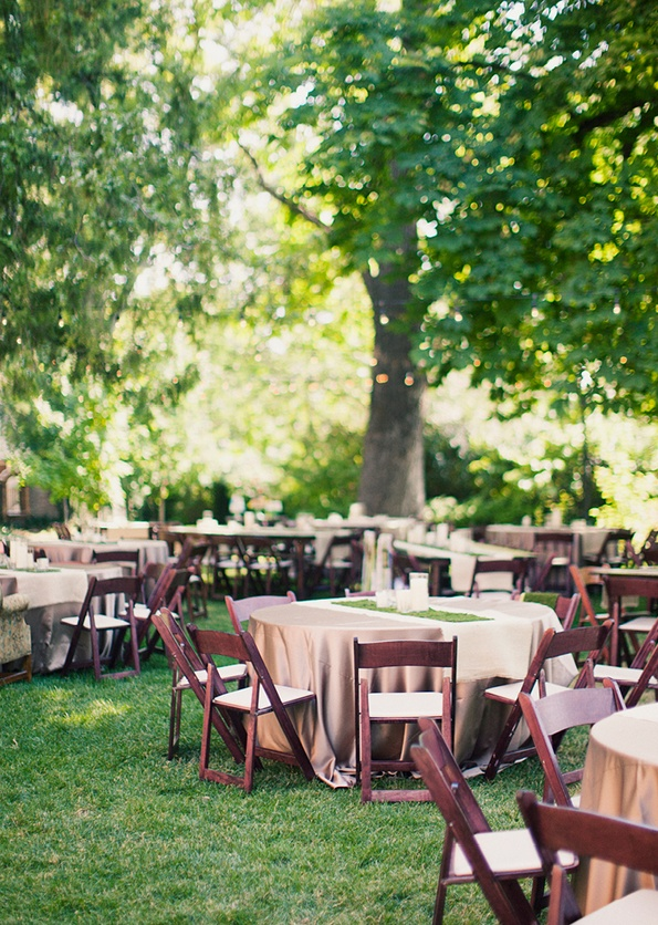 Perfect Backyard Wedding : PERFECT outdoor reception  Wedding Reception  Pinterest
