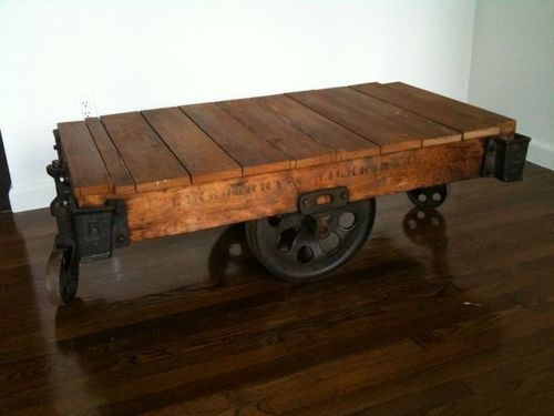 Warehouse Carts Would Be If I Used It As A Coffee Table In My House
