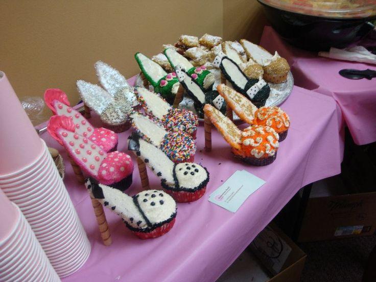 high heel shoe cupcakes cupcakes