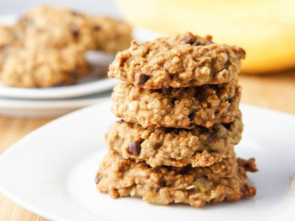 Chocolate and Banana Cookies, featuring quinoa, almond and brown rice ...