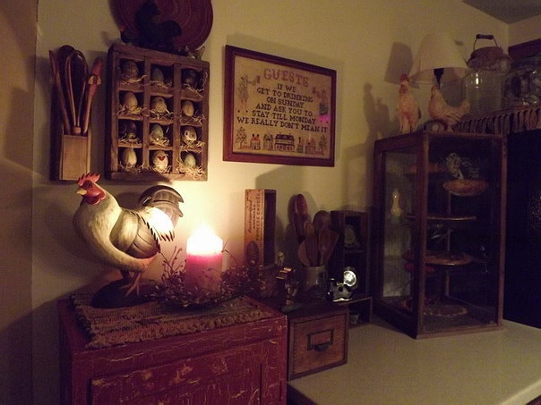 Kitchen Primitive Home Decor Pinterest