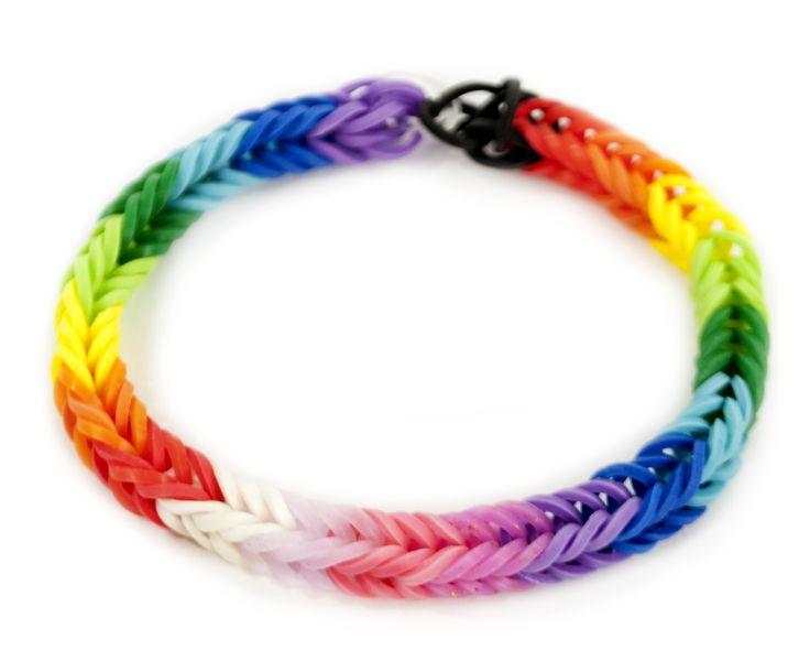 Band loop bracelet kids crafts stretchband loopband loombracelet
