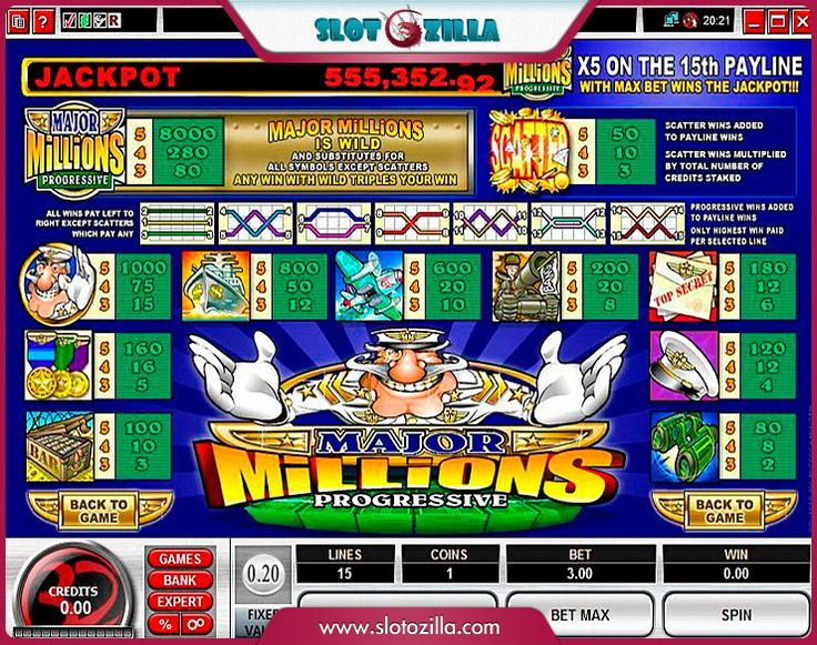 Major Millions™ Slot Machine Game to Play Free in Microgamings Online Casinos