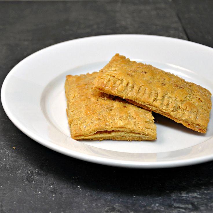 Homemade brown sugar and cinnamon pop tarts