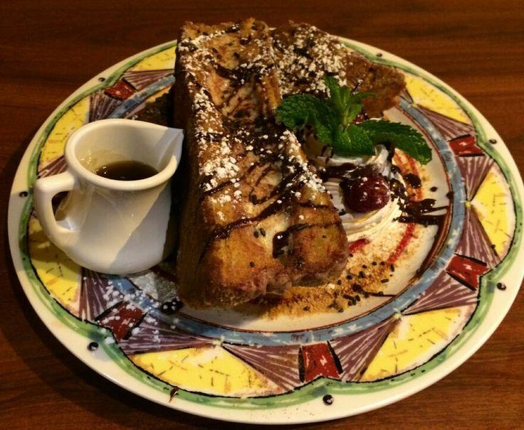 ... Raspberry Chocolate Swirl Cheesecake Stuffed French Toast with Fresh