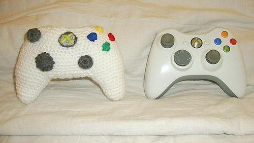 Crochet Xbox Controller : Xbox controller pattern. Stuff We Love Pinterest
