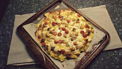 ... Squash, Rosemary and Goats Cheese Polenta Pizzas (polenta pizza base