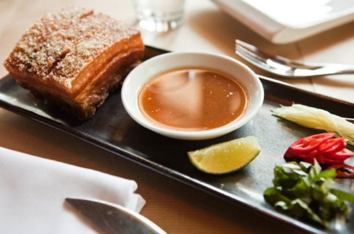 Spice Market's Crispy Pork Belly will change your life!