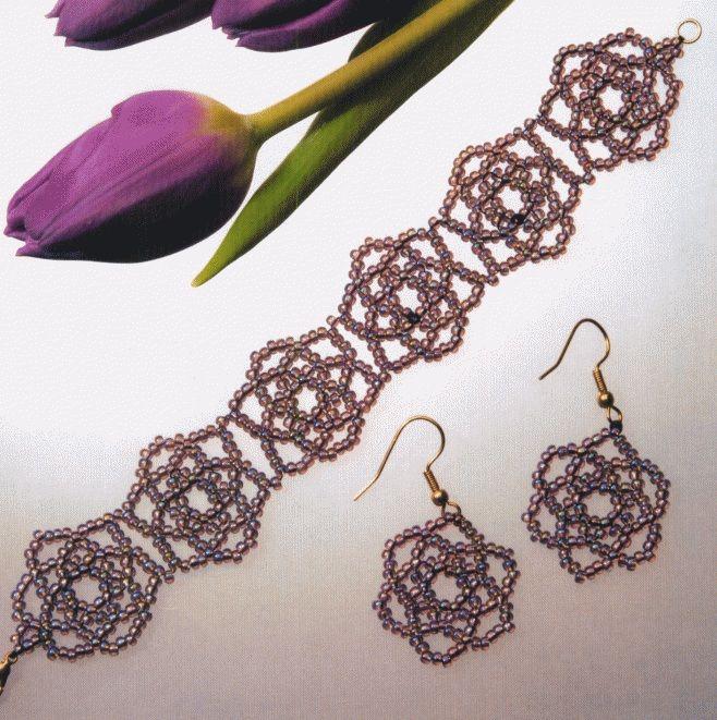 бисероплетение для начинающих серьги strong бисероплетение браслеты. схемы/strong плетения орхидей из. из бисера.