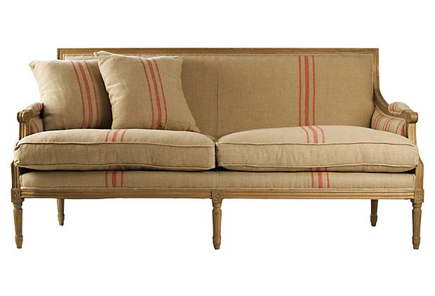 "One Kings Lane - Natural, Comfortable Style - Turnley 69"" Sofa"