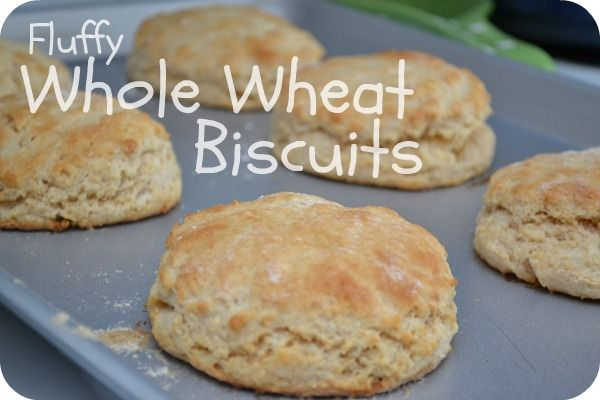 ... ll b trying these asap. Fluffy Whole Wheat Biscuits | Grain Mill Wagon