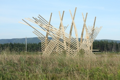 Cheticamp Meadow Shelter by Jonathan Castro, via Behance