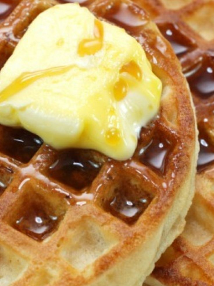 Waffles and maple syrup!!   Food Pins   Pinterest