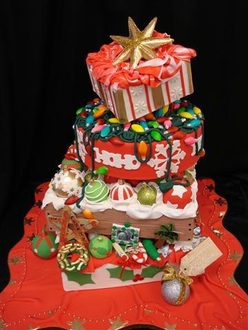 Merry Christmas Cake Images : Merry Christmas Cake Cakes Pinterest