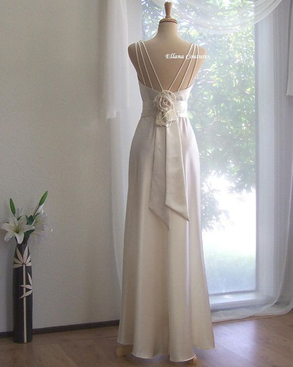 Wedding Gifts For USD300 : ... Vintage Glamor Inspired Wedding Dress by EllanaCouture, USD475.00