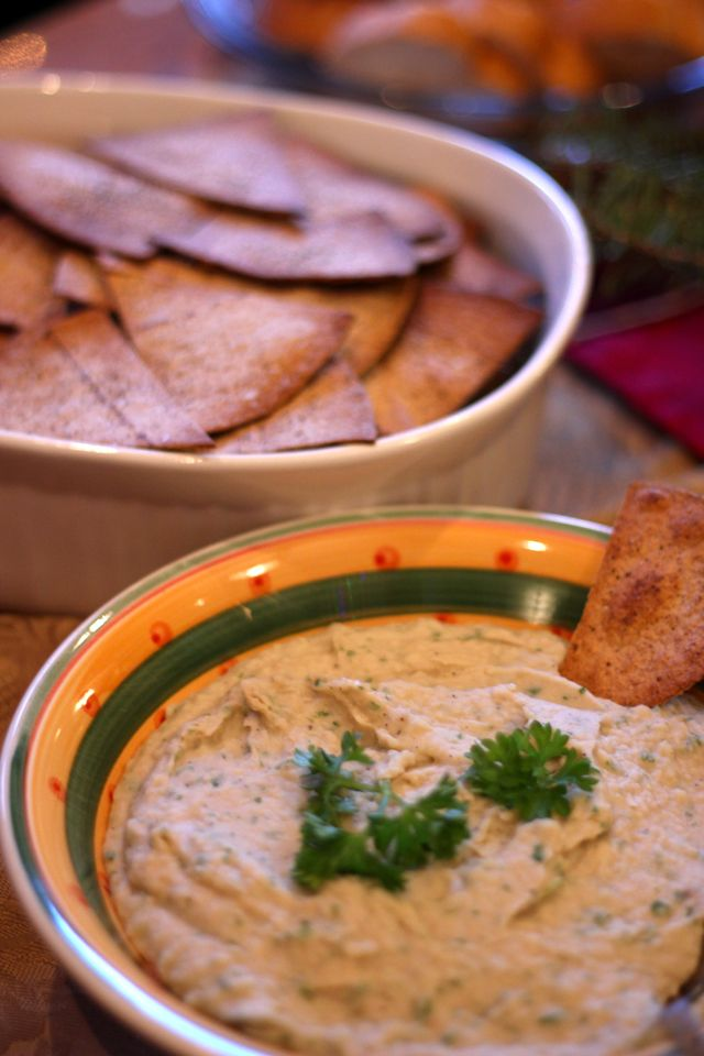 Garlic Cannellini Bean Dip | Appetizers | Pinterest