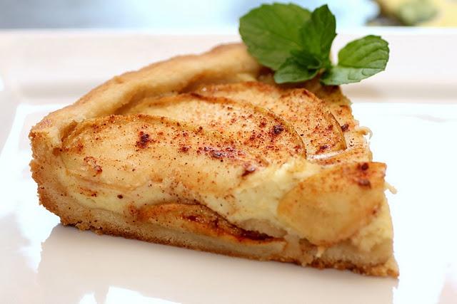 Bavarian Apple Torte | Desserts-Pie | Pinterest