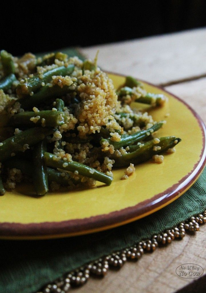 "Sophisticated"" Green Bean Casserole (Vegan and Gluten Free)"