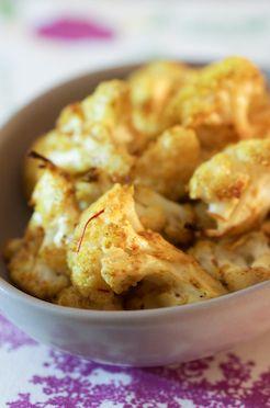 Saffron Roasted Cauliflower | Recipe