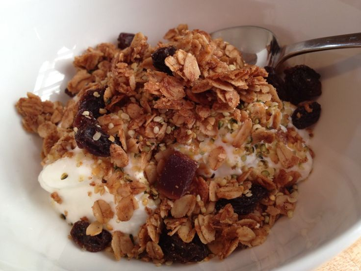 Gluten-free Cinnamon Hemp Granola with So Delicious Coconut Milk ...
