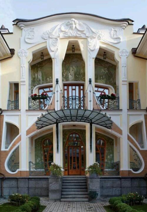 Modern art nouveau architecture the - Modern art nouveau architecture ...