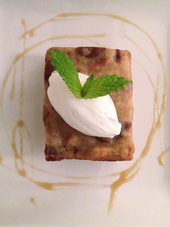 Challah Bread Pudding With Kahlua Cream Sauce Recipe ...