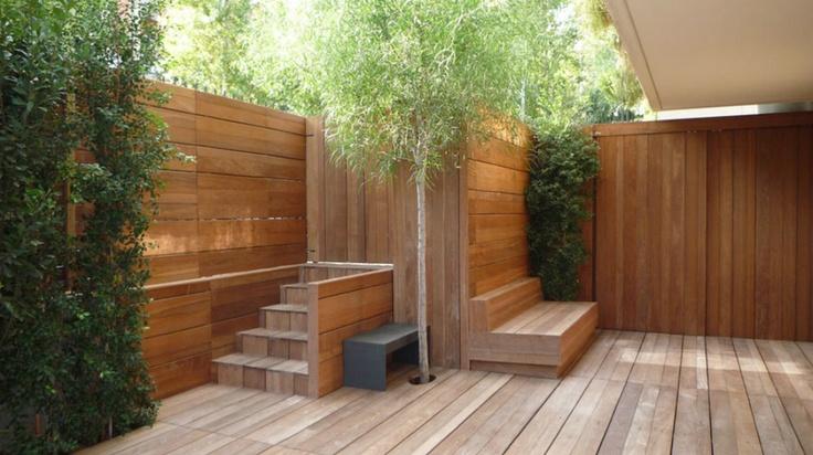Beautiful Backyard Decks : Beautiful decksmall backyard  Small courtyards  Pinterest