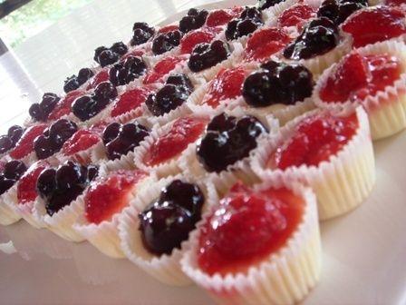 ... : mini cheesecakes , mini cheesecake bites and blueberry cheesecake