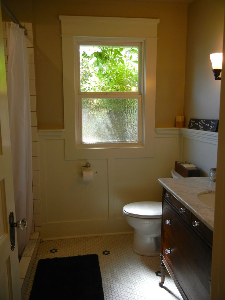 Vintage bathroom remodel our projects bathrooms pinterest for Old bathroom renovation