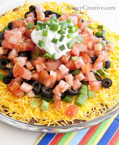 Layer Mexican Dip | Recipes | Pinterest